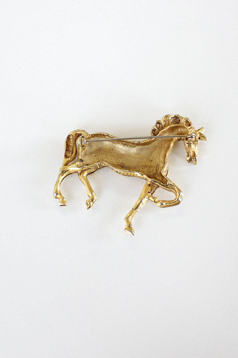 Golden Horse Pin