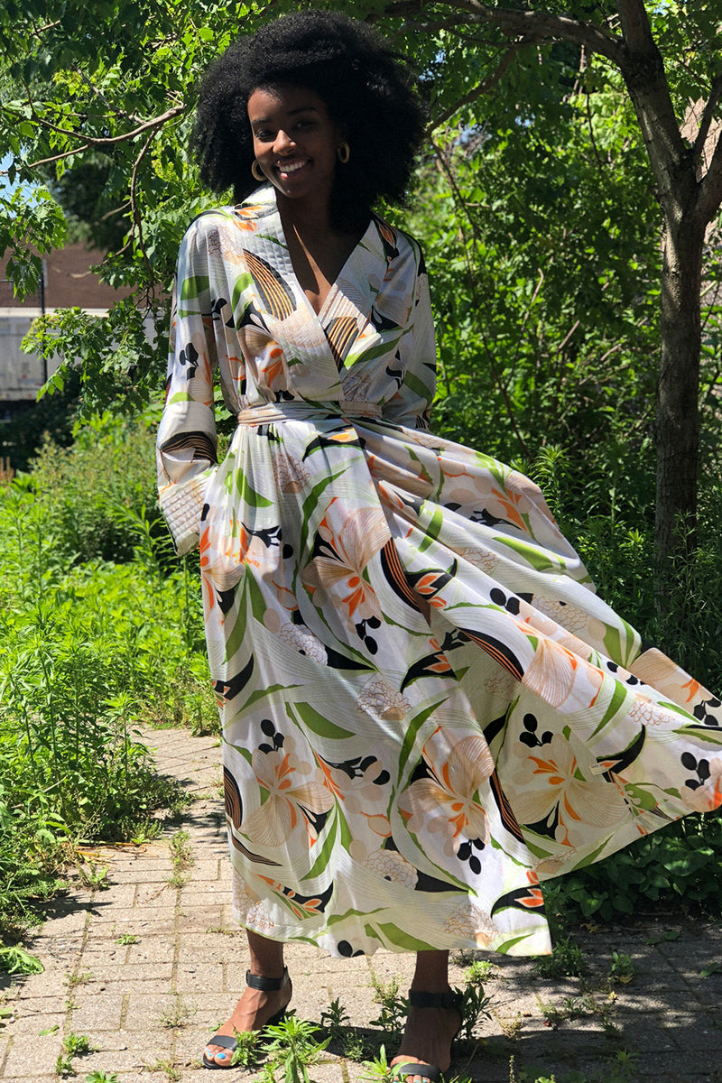 Vanity Fair Tropical Robe