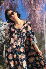 Blooming Flowy Dress S-XL