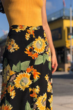 Sunflower Tea Skirt M/L