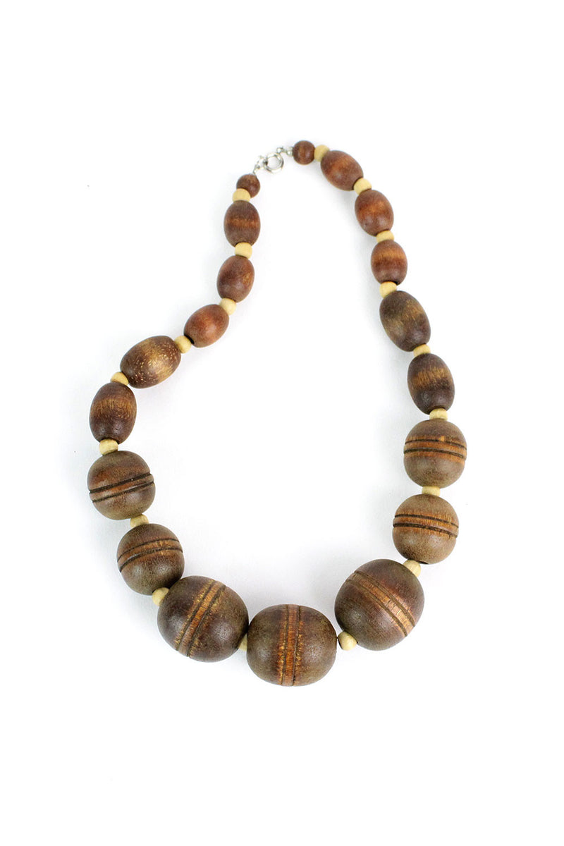 Wooden Changes Necklace
