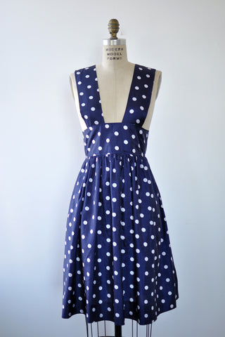 Dotty Jumper Dress