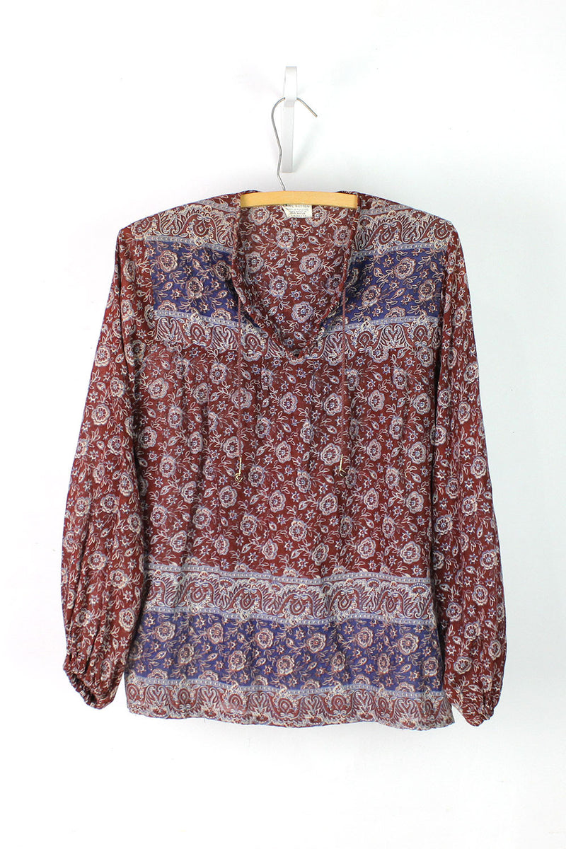Mulberry Batik Top M