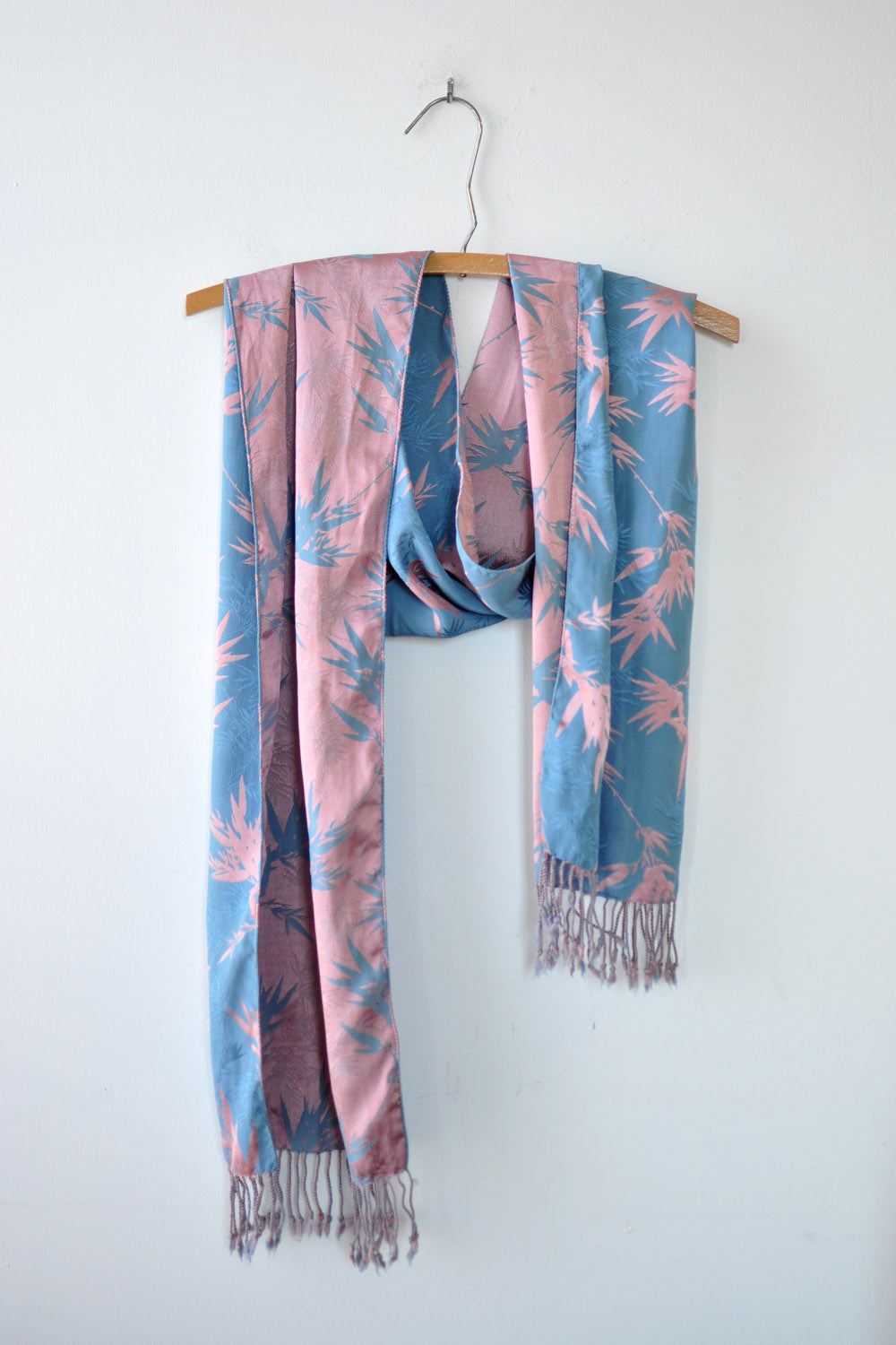 Blush & Blue Bamboo Scarf
