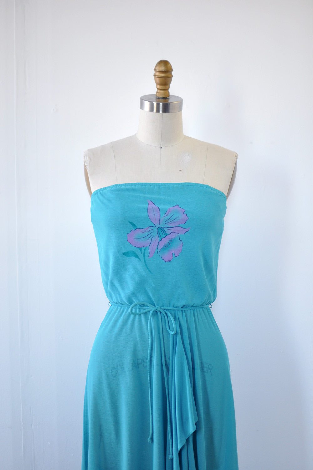 Violet Daffodil Sheer Dress XS/S