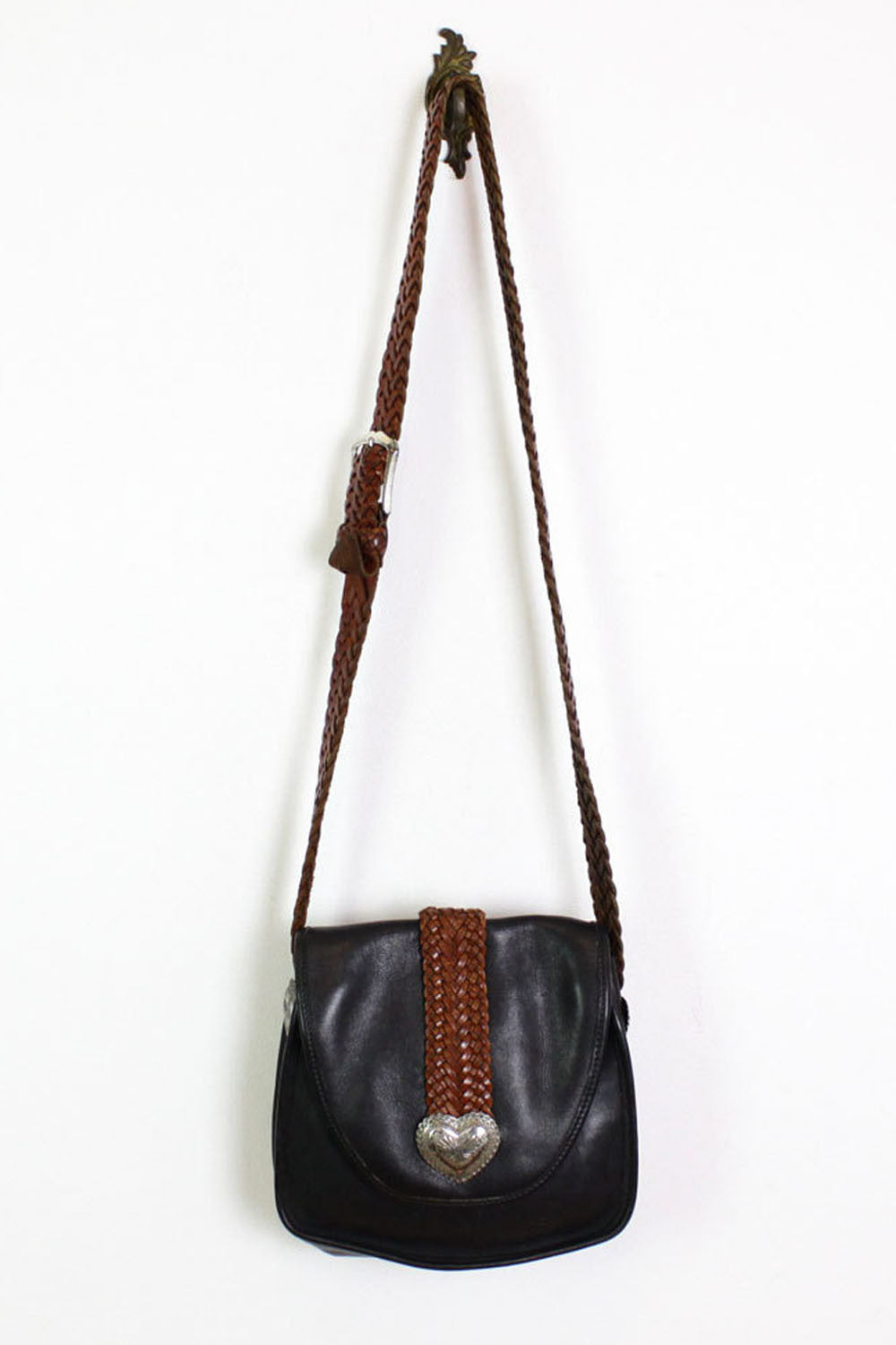 Brighton Braided Leather Bag