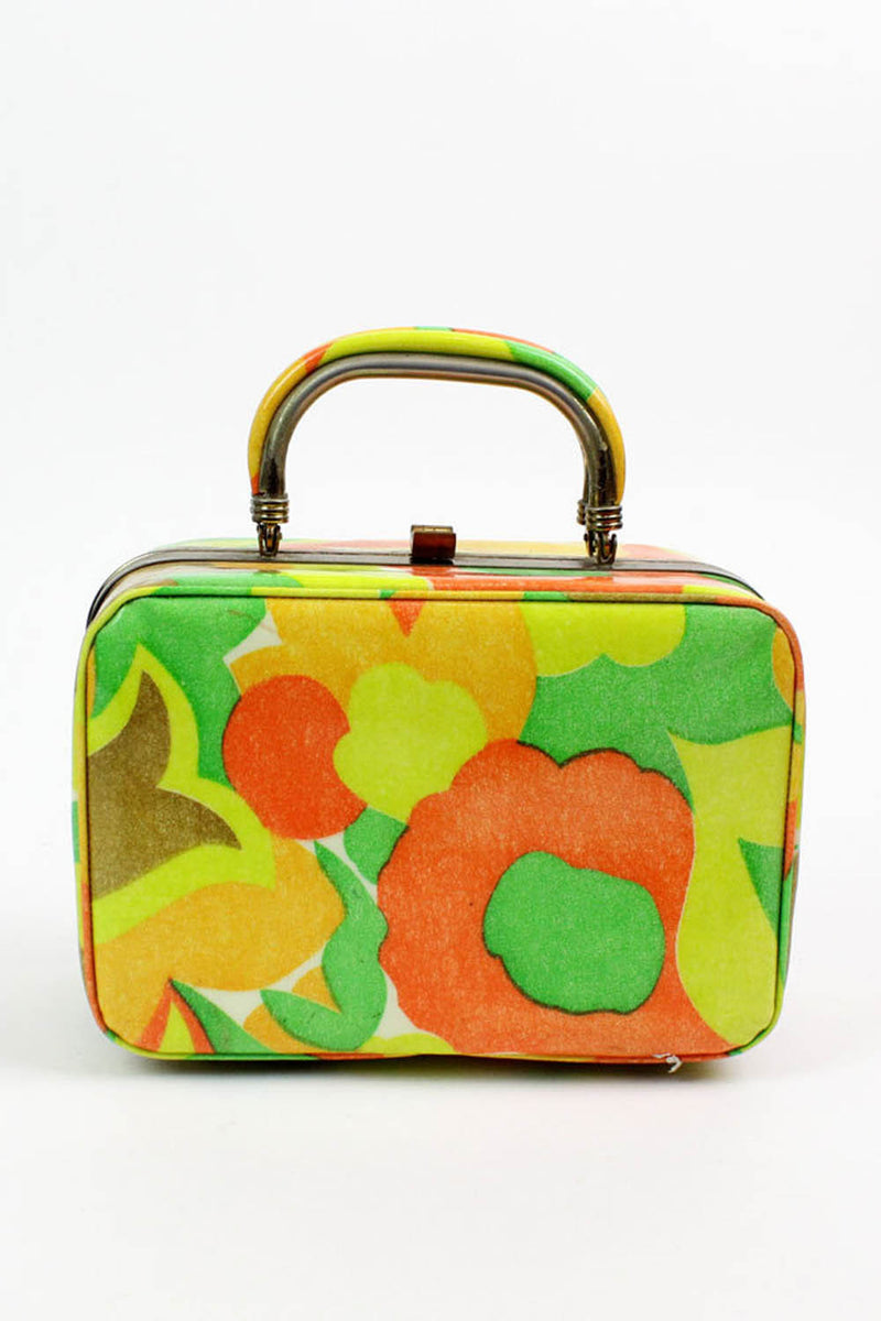 1960s Bright Box Bag