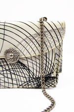 Spirograph Chain Crossbody Bag