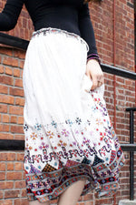 vintage indian gypsy skirt