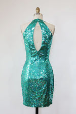 Mermaid Sequin Mini Dress XS/S