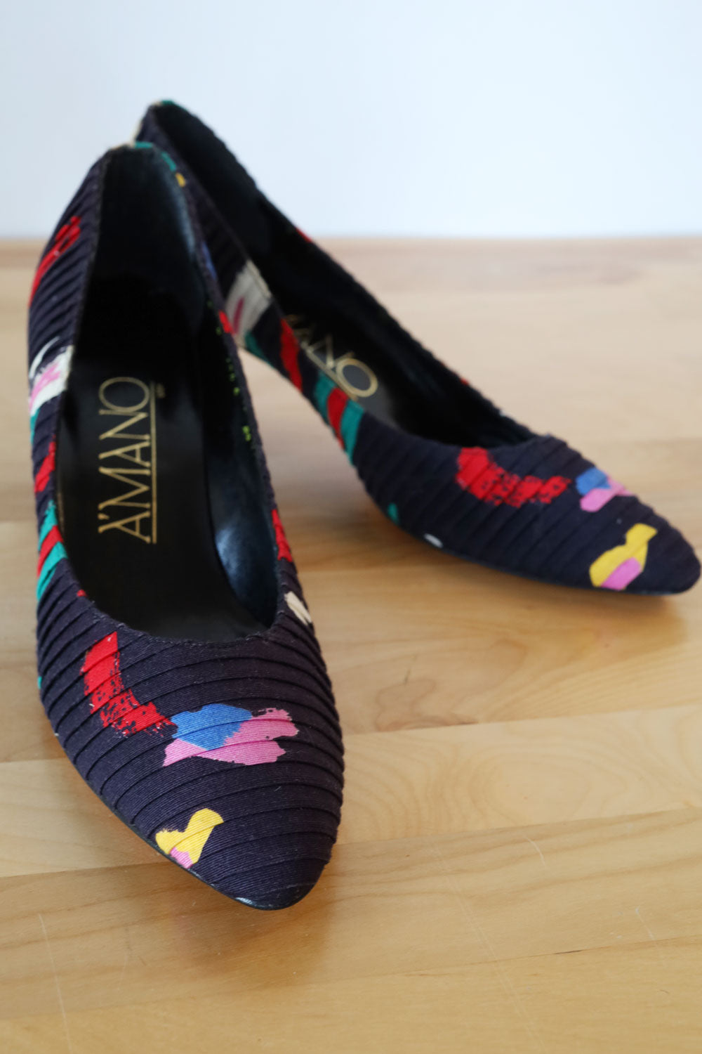 Amano Pleated Pumps 8 1/2
