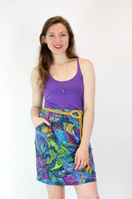 Under the Sea Knit Skirt M