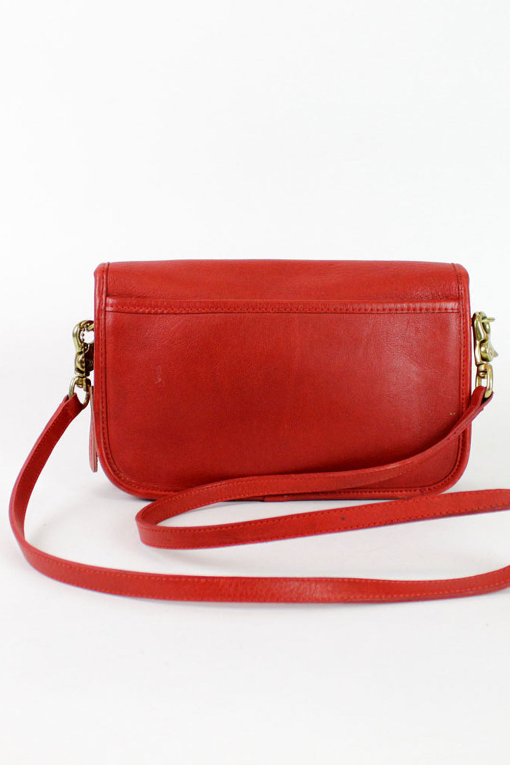 Coach red crossbody