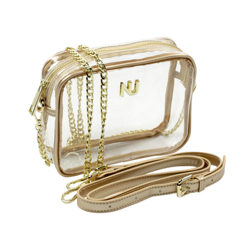 Taylor Crossbody- Gold