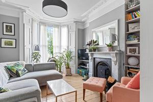 Lounge in Victorian flat