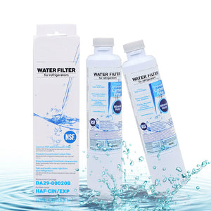 Refrigerator Water Filter, 2 Pack