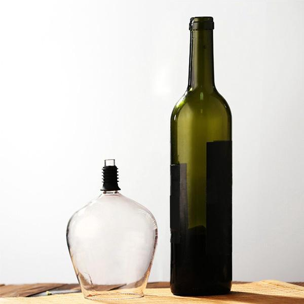 Wine Bottle Glass