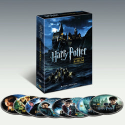 Harry Potter Complete 8-Film Collection DVD 8-Disc Set | Foofster LLC