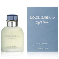 DOLCE & GABBANA Men's Light Blue Pour Homme Eau de Toilette Spray