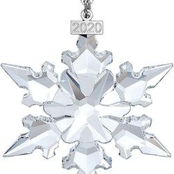Swarovski Crystal Large Annual Edition Christmas Ornament 2020 Snowflake