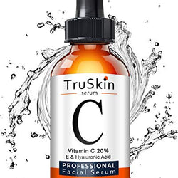 TruSkin Vitamin C Serum for Face, Topical Facial Serum with Hyaluronic Acid, Vitamin E, 1 fl oz: Beauty | Foofster LLC