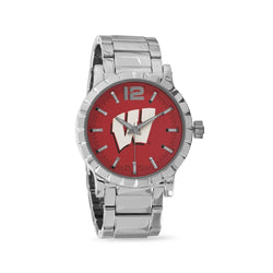 Collegiate Licensed University of Wisconsin Men's Fashion Watch
