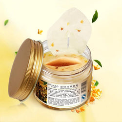 80 pcs/ bottle BIOAQUA Gold Osmanthus eye mask Nourish Moisturizing Gentle skin care | Foofster LLC