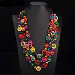 Multicolor Necklace 041 | Foofster LLC