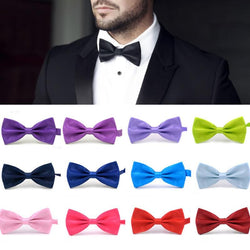 Fashion 1PC Gentleman Men Classic Satin Bowtie | Foofster LLC