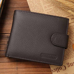 JINBAOLAI Leather Men Wallets | Foofster LLC