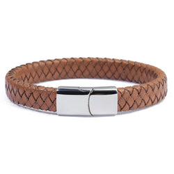 Genuine Braided Leather Wrap Bracelet 762 | Foofster LLC