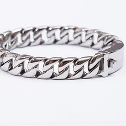TrustyLan Fashion New Link Chain Stainless Steel Bracelet 247 | Foofster LLC