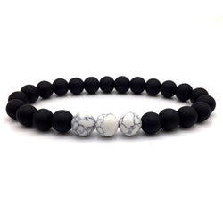 Classic Marble Beaded Bracelet 670 | Foofster LLC