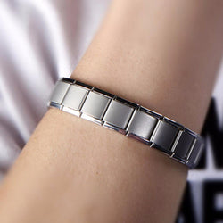 Stainless Steel Health Germanium Stretch Bracelet 006 | Foofster LLC