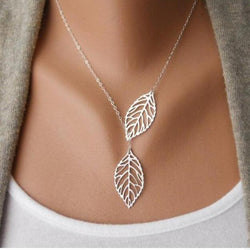 The Leaf II Necklace 215 | Foofster LLC