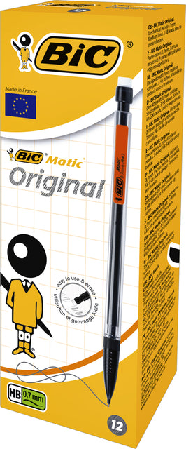 Drukpotlood Bic Matic Classic 0.7mm (per 12 stuks)