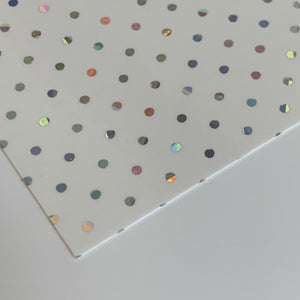 Mirri holographic disco 0.3mm 70 x 99 cm BL 240gr/m2 (25 platen)