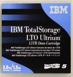 IBM LTO 5 Ultrium Tape 1.5/3.0 TB 46X1290