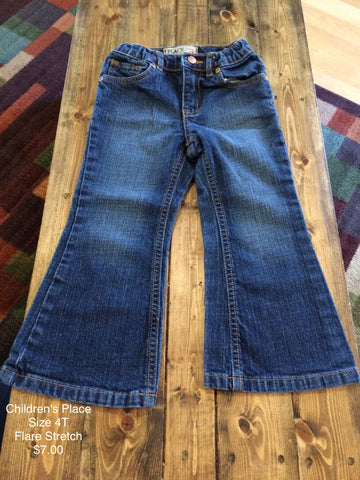 Children's Place Flare Strech Jeans