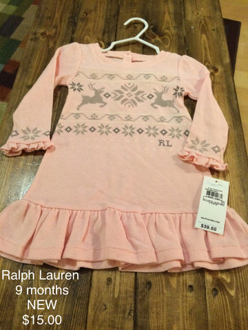 Ralph Lauren Reindeer Dress
