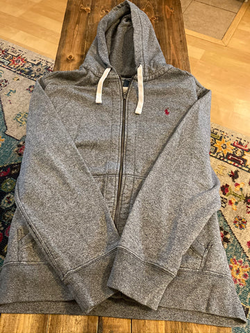Ralph Lauren Hooded Zip Up Sweatshirt