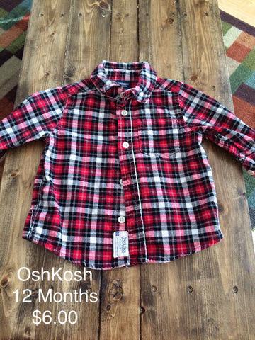OshKosh Corduroy Button Down Shirt
