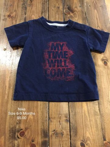 "Nike ""My Time Will Come"" T-Shirt"