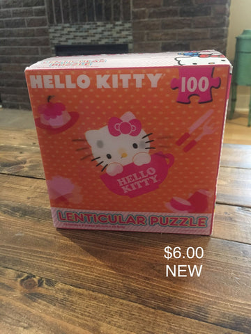 Hello Kitty 100 Piece Lenticular Puzzle