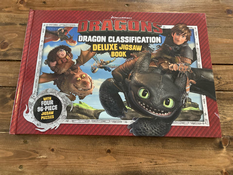 Dreamworks Dragons Dragon Classification Deluxe Jigsaw Book