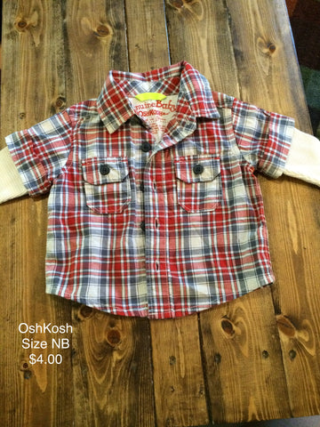 OshKosh Long Sleeve Button Down Shirt