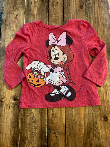 Old Navy Minnie Mouse Halloween Long Sleeve Shirt