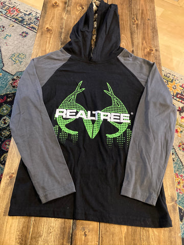 Realtree Hooded Long Sleeve Shirt