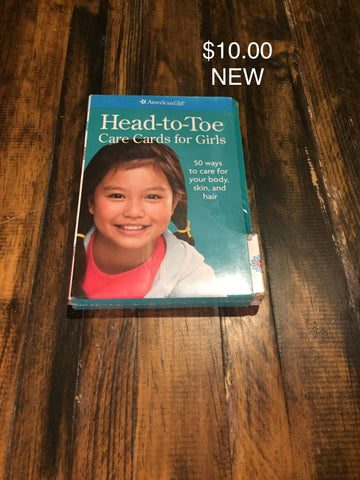 American Girl: Head-to-Toe Care Cards for Girls