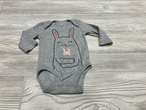 Carter's Bunny Rabbit Long Sleeve Onesie